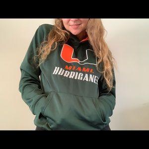 Miami Hurricanes Hoodie Youth XL